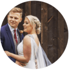 Oliver and beth Hazel gap barn wedding